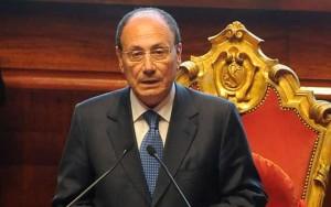 Renato Schifani, presidente del Senato