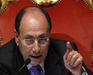 Il presidente del Senato Renato Schifani