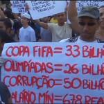 brasile proteste mondiali