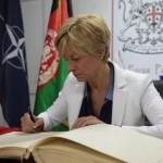 Afghanistan: Pinotti a Herat con militari italiani