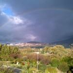 Arcobaleno ad Assisi