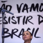 Presidential candidate from the Brazilian Socialist Party Marina Silva