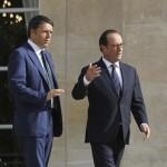 Ue: Renzi arrivato all'Eliseo