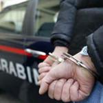 Criminalità: arresto da parte dei carabinieri