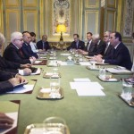 French and Iraqi Presidents meet in Paris