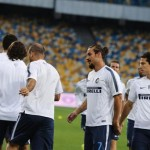 Inter Milan training
