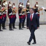 Jordan King Abdullah II in Paris
