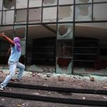 Students attack congress of Guerrero state in Mexico