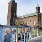 Election posters in Stockholm