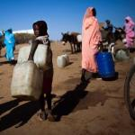 Displaced People in Shangil Tobaya, Darfur