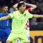 Soccer; Uefa Euro 2016 qualifying; Italy-Croatia