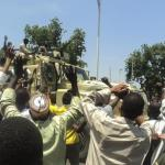 Boko Haram armoured vehicles seized in northern Nigeria