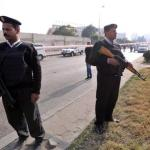 Two injured in explosion targeting security services