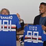 Soccer: Samuel Eto'o press conference