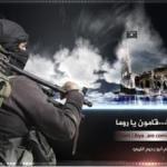 Minacce Isis a Roma, spunta la bandiera nera sul Colosseo