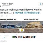 Feyenoord-Roma: olandesi, Colosseo sarà nostro nuovo stadio