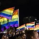 Demonstration against the persecution of homosexuals