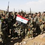 Syrian army makes gains around Damascus