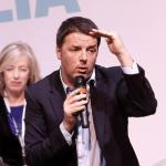 Matteo Renzi at the Democratic Party initiative for the School Reform