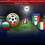 Qualificazioni Euro 2016, in campo Bulgaria-Italia
