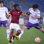 Soccer: Europa League, Roma-Fiorentina