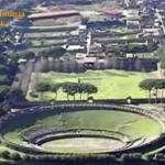 Pompei, danno erariale (fermo-immagine filmato Gdf)