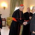 ++ Quirinale: da Mattarella Parolin e i nuovi cardinali ++