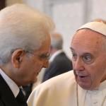 Pope: private audience to Sergio Mattarella,