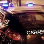 Forze ordine: auto dei carabinieri in notturna