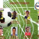 Una slide dell'inchiesta dell'operazione 'Dirty Soccer' mostra i volti di alcuni fermati coinvolti nella nuova vicenda di calcioscommesse, Roma, 19 maggio 2015. ANSA/UFFICIO STAMPA POLIZIA ++ NO SALES, EDITORIAL USE ONLY ++