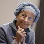 Emma Bonino durante il convegno sull'eutanasia ''Liberi fino alla fine: il Parlamento si faccia vivo'', Roma 19 Marzo 2015. ANSA/GIUSEPPE LAMI
