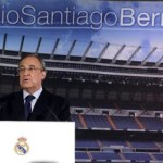 epa04767714 Real Madrid's President Florentino Perez speaks during a press conference held at Santiago Bernabeu stadium in Madrid, Spain, 25 May 2015. Perez announced that Italian head coach Carlo Ancelotti will not continue the next season in Real Madrid.  EPA/BALLESTEROS
