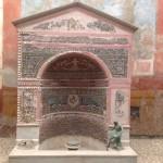 (ANSA) - NAPOLI, 6 MAG - Pompei: restaurata Fontana Piccola agli Scavi