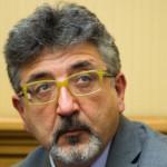 22/05/2013 Roma, conferenza stampa del Movimento 5 Stelle su una proposta di modifica del quorum elettorale. Nella foto Bartolomeo Pepe