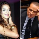 """Una foto combo mostra la ragazza marocchina Karima """"Ruby"""" El Mahroug (S) e Silvio Berlusconi. ANSA/GERACE-FERRARI"""