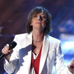 Italian singer Gianna Nannini performs on stage during the Sanremo Italian Song Festival, at the Ariston theater in Sanremo, Italy, 14 February 2015. The 65th Festival della Canzone Italiana runs from 10 to 14 February.      ANSA/CLAUDIO ONORATI