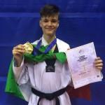 Medaglia azzurri cadetti europei taekwondo