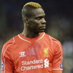 Liverpool's Mario Balotelli looks on during the UEFA Champions League Group B soccer match between Liverpool FC and Real Madrid at Anfield stadium in Liverpool, Britain, 22 October 2014.  ANSA/ANDY RAIN