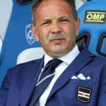 epa04782789 (FILE) A file picture dated 24 May 2015 of Sampdoria's head coach Sinisa Mihajlovic during the Italian Serie A soccer match between Empoli FC and UC Sampdoria at Carlo Castellani Stadium in Empoli, Italy. Sinisa Mihajlovic is close to signing a coaching contract with AC Milan after clinching an Europa League berth with Sampdoria, local media reported on 04 June 2015.  EPA/CLAUDIO GIOVANNINI