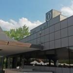 (ANSA) - FABRIANO (AN), 21 LUG - Industria: la sede Indesit-Whirlpool di Fabriano.