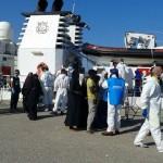 A Corigliano sbarcati migranti