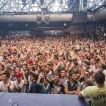 La discoteca Cocorico di Riccione durante un Rave estivo, 24 agosto 2013. ANSA/PASQUALE BOVE