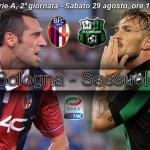 Bologna-Sassuolo, derby emiliano il sabato in serie A