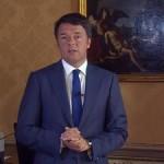 Un fermo immagine tratto dal profilo  facebook di Matteo Renzi, presidente del Consiglio dei Ministri, Roma 1 settembre 2015  +++ATTENZIONE LA FOTO NON PUO? ESSERE PUBBLICATA O RIPRODOTTA SENZA L?AUTORIZZAZIONE DELLA FONTE DI ORIGINE CUI SI RINVIA+++