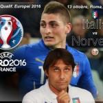 Qualif. Europei 2016, Italia-Norvegia