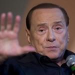Il presidente di Forza Italia, Silvio Berlusconi, durante il suo intervento ad Atreju. Roma, 26 settembre 2015. ANSA/CLAUDIO PERI