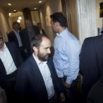 Matteo Orfini al termine della riunione della direzione del Partito Democratico. Roma, 21 settembre 2015. ANSA/CLAUDIO PERI