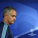 epa04954768 Chelsea's manager Jose Mourinho during a press conference at Dragao stadium in Porto, Portugal, 28 September 2015. Chelsea will face FC Porto in the UEFA Champions League group G soccer match on 29  September.  EPA/ESTELA SILVA