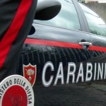 Carabinieri foto generica, auto di pattuglia con paletta ministero della Difesa/ Foto Mimmo Trovato