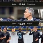Europa League, Viola e Lazio in campo alle 19.00